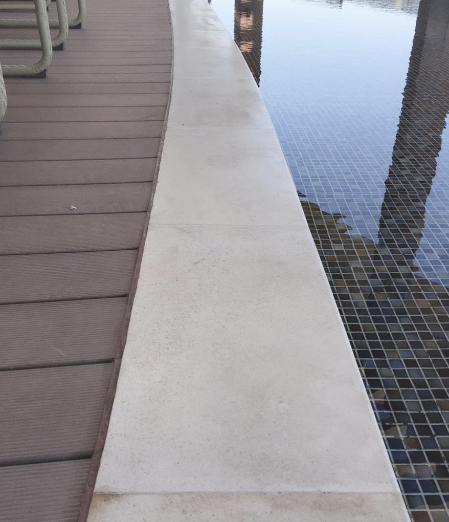 NonSlip Pool Deck