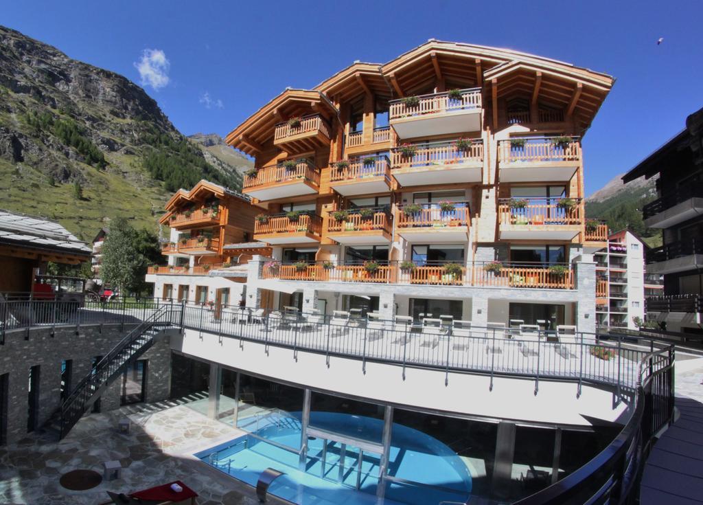 Swiss GriP at Switzerland's leading hotel
