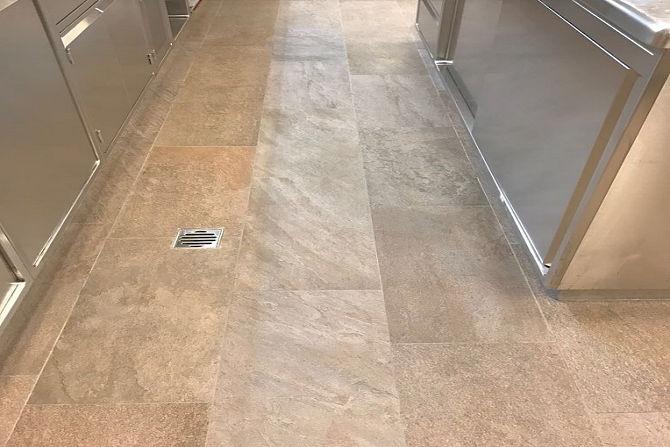 Non-Slip Kitchen Floor