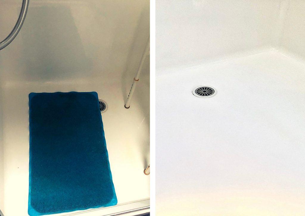 NonSlip Shower for elderly