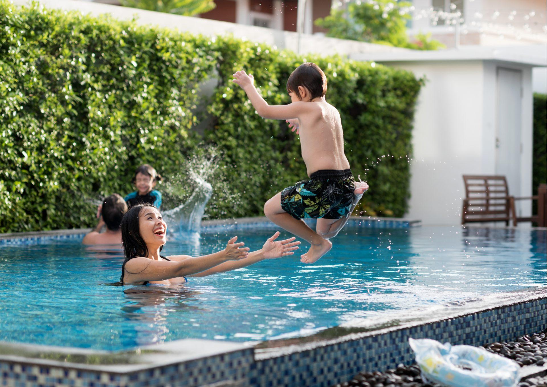 Non Slip Pool