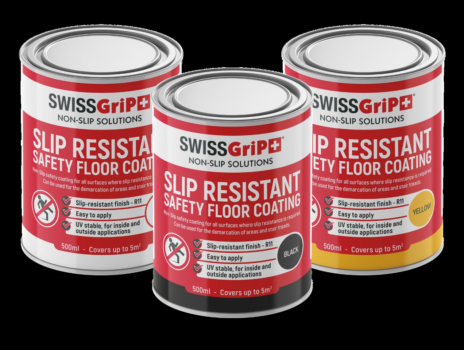 Tinted Non-Slip Floor Coatings