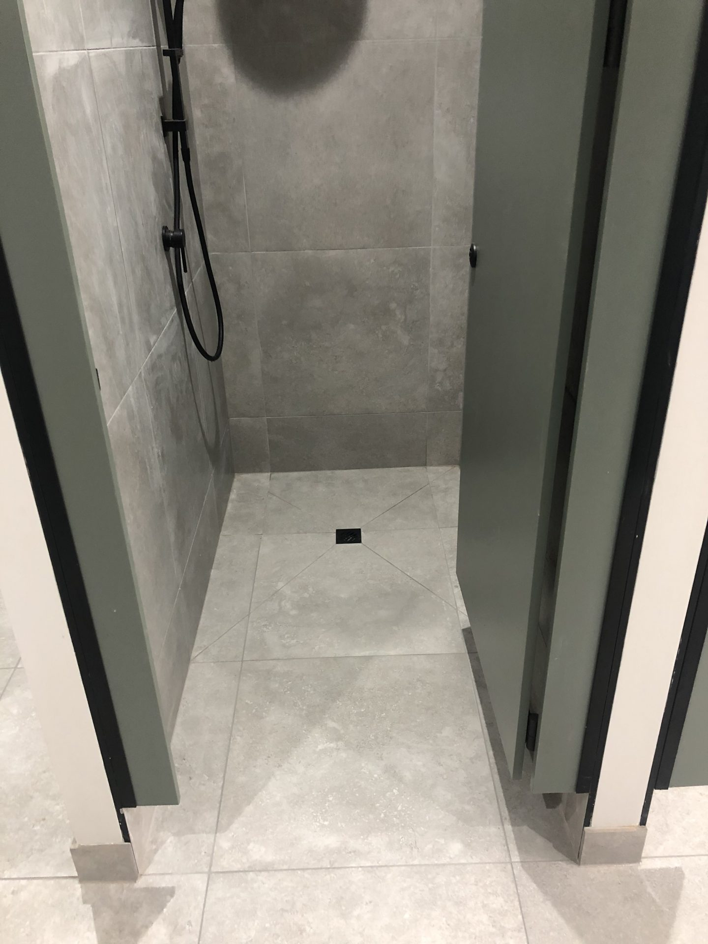 Non-Slip Shower