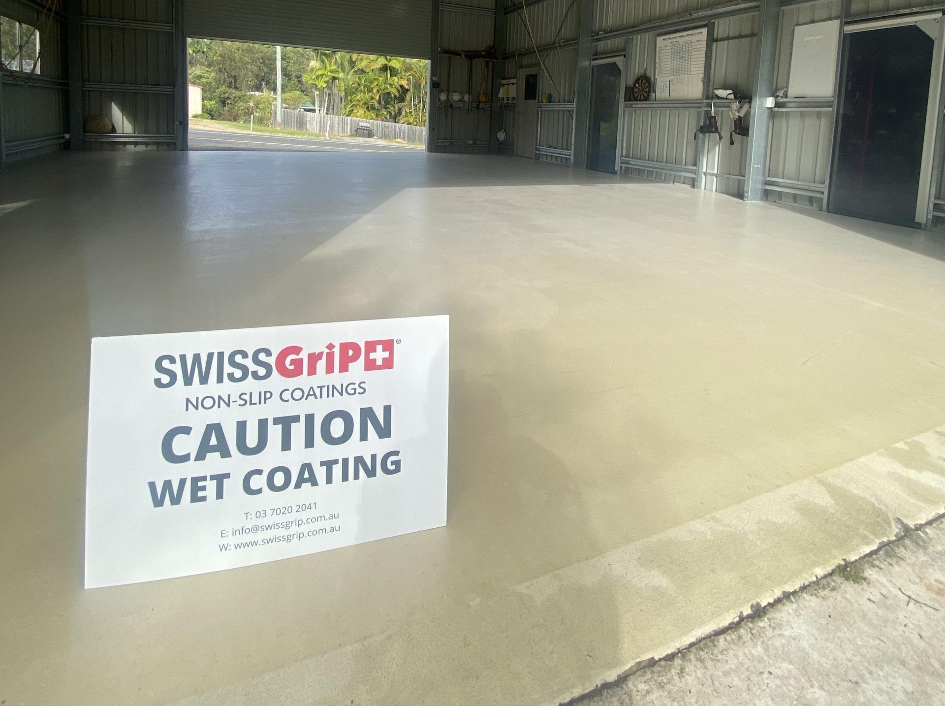 Non-Slip Concrete