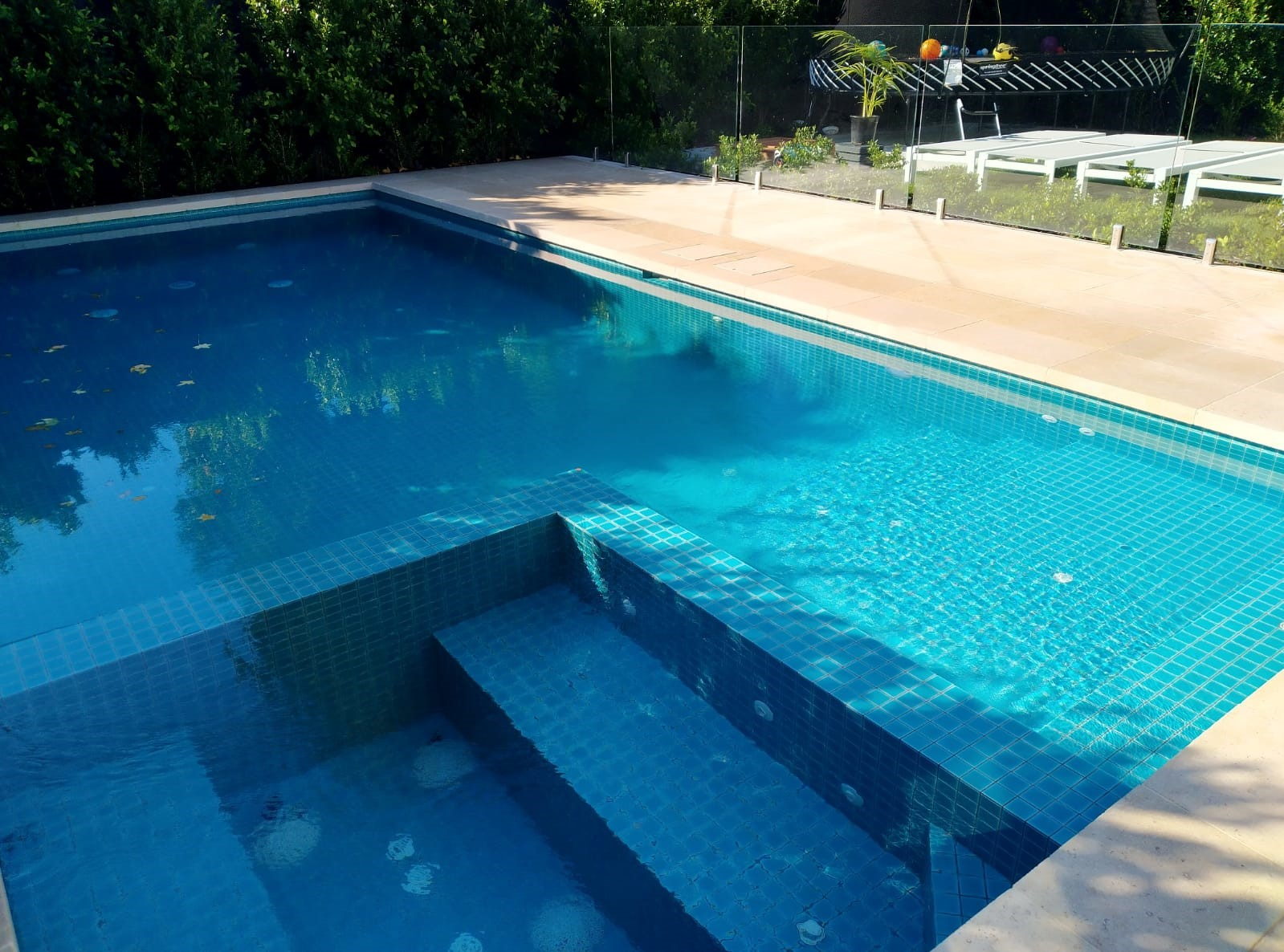 Non-Slip Pool Area
