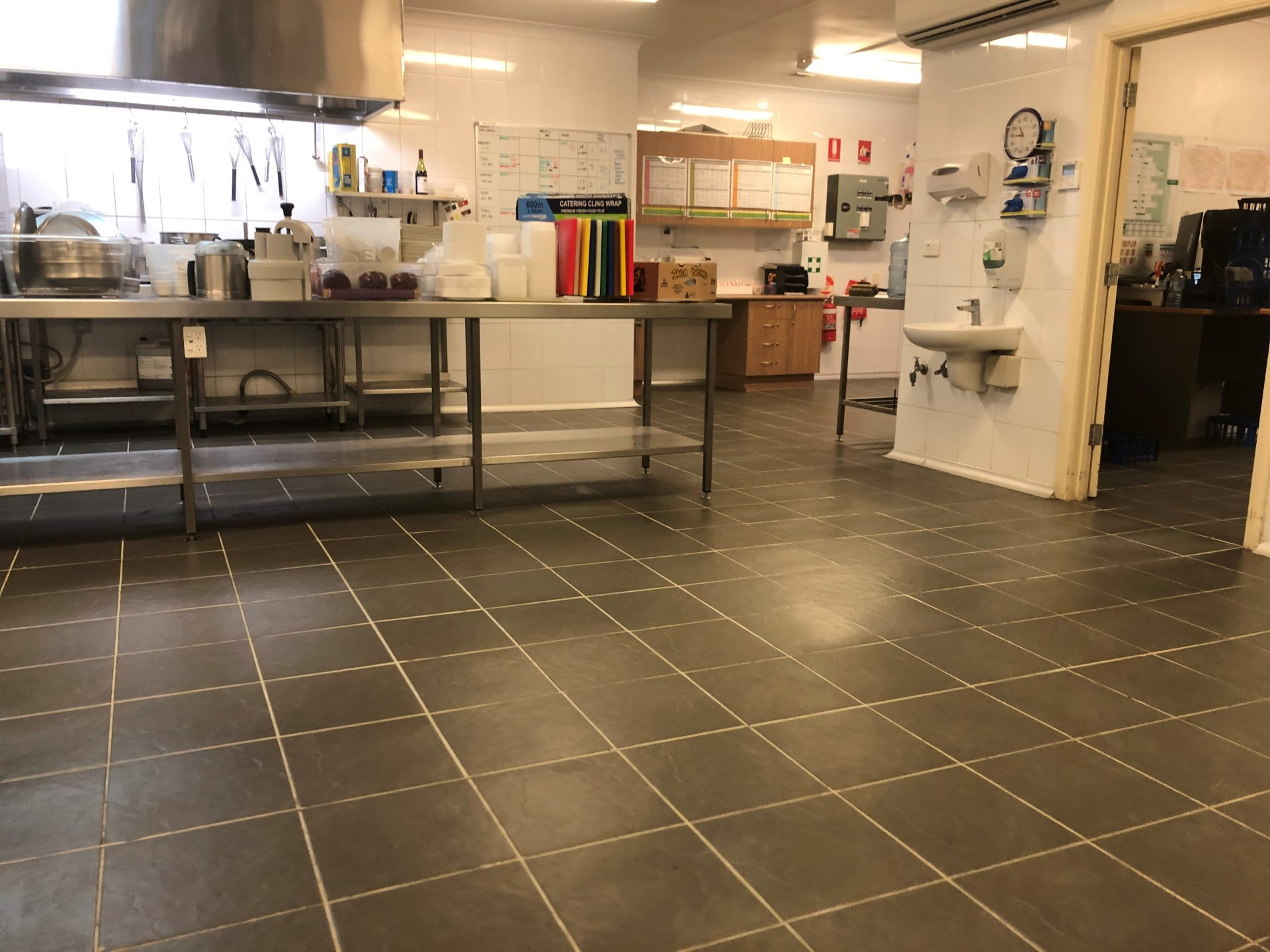 Non-Slip Kitchen Floor