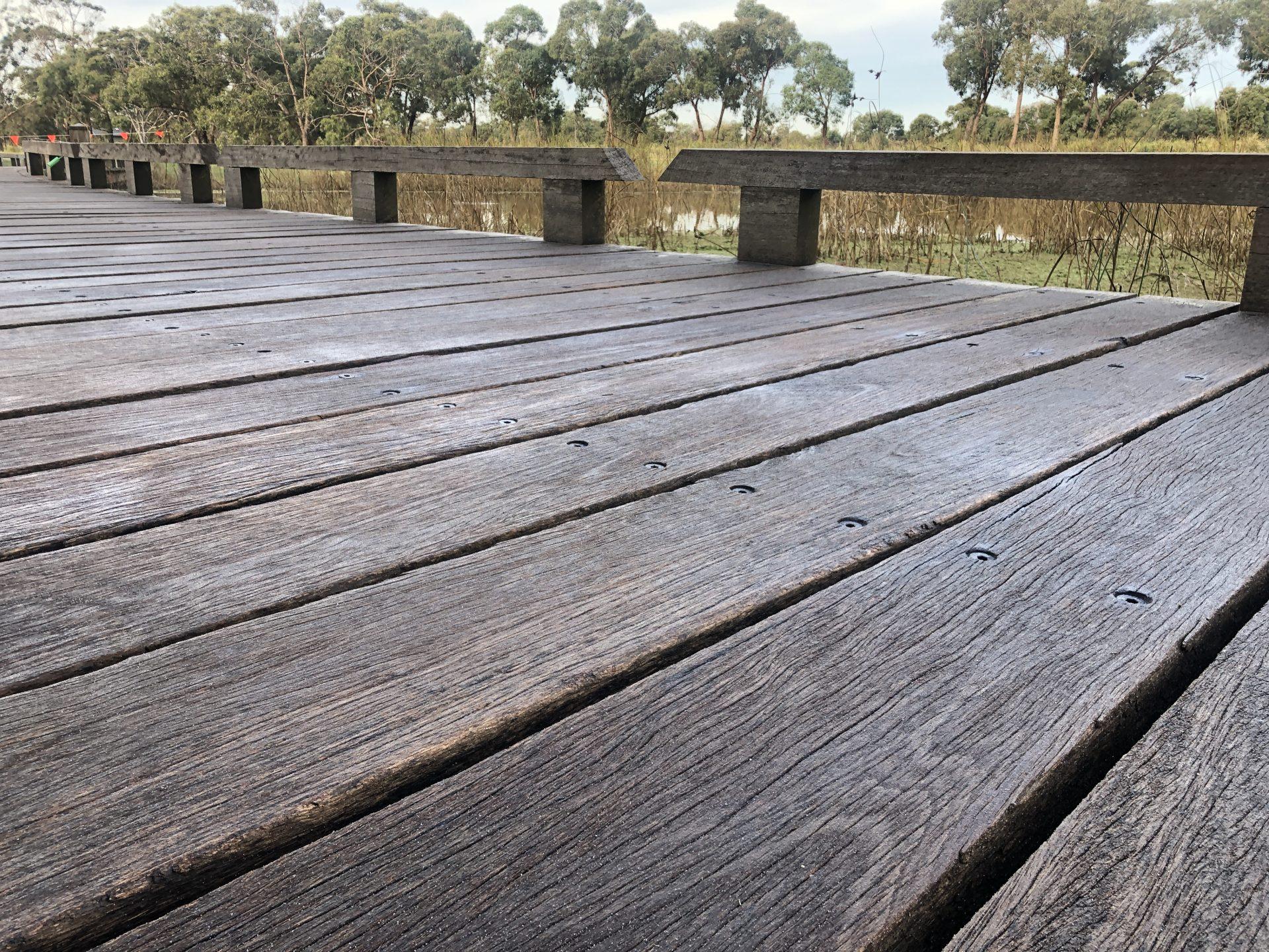 Anti-Slip Timber