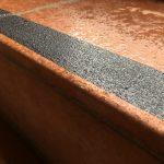 black non-slip stair nosings