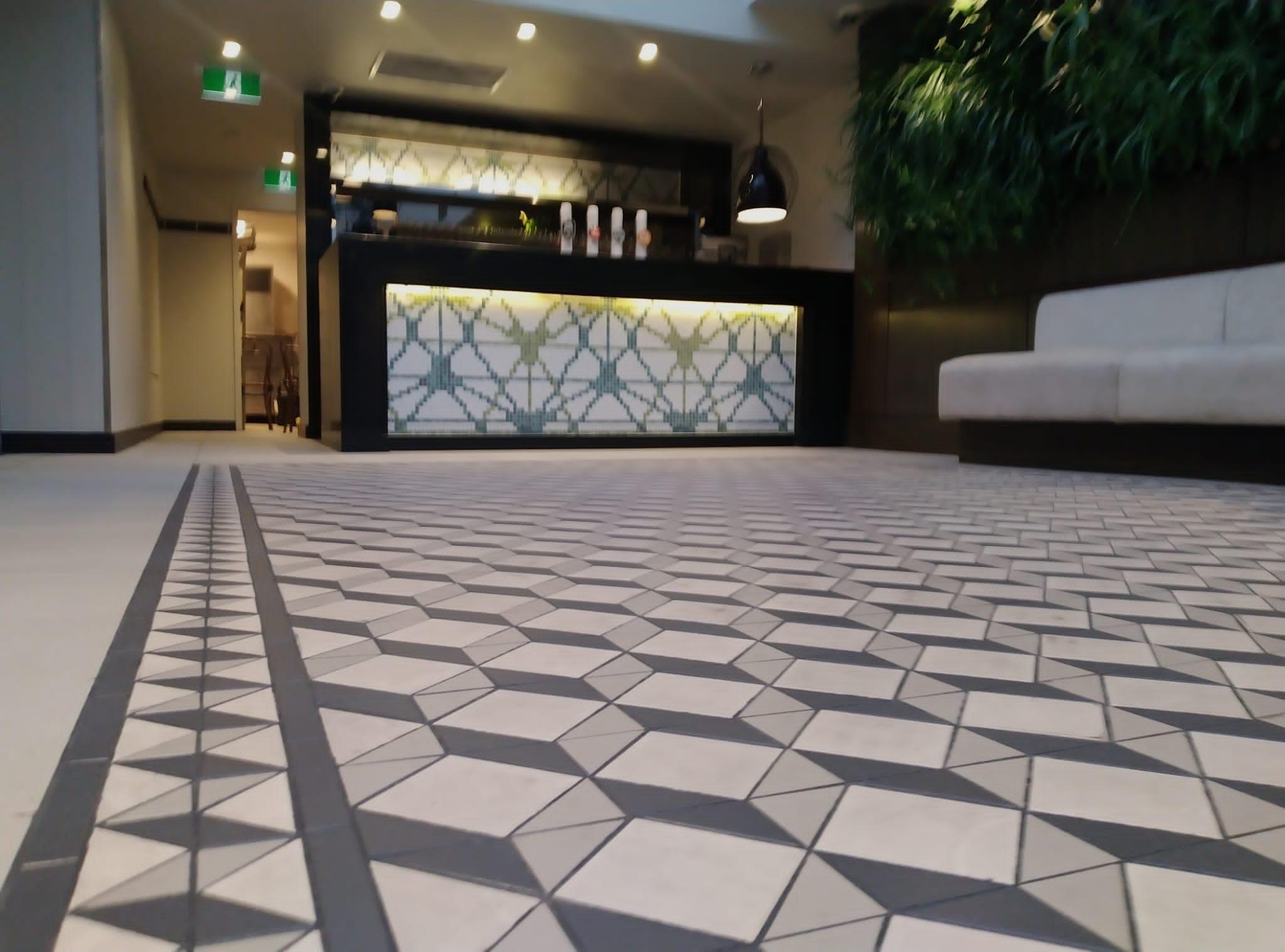 slip-resistant floor