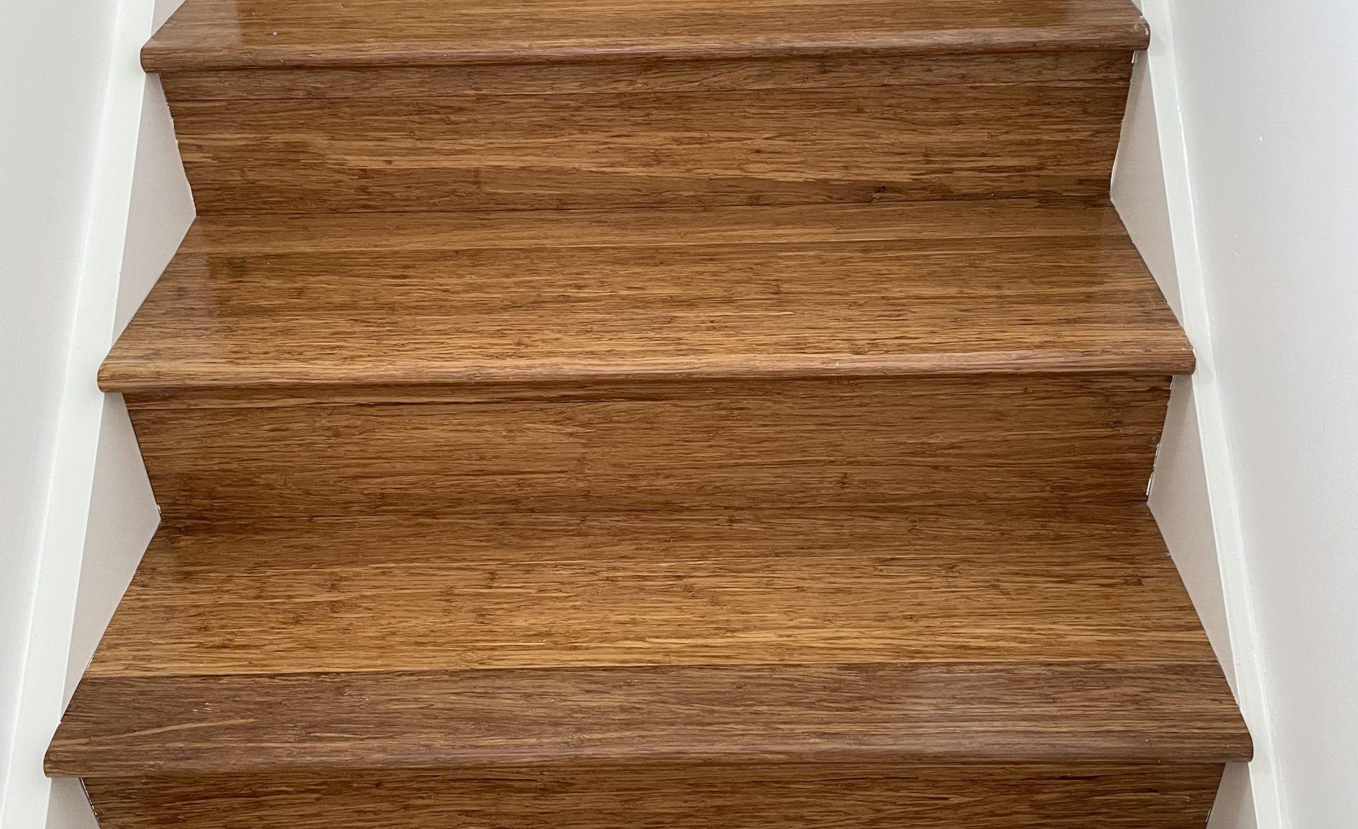 non-slip timber stairs