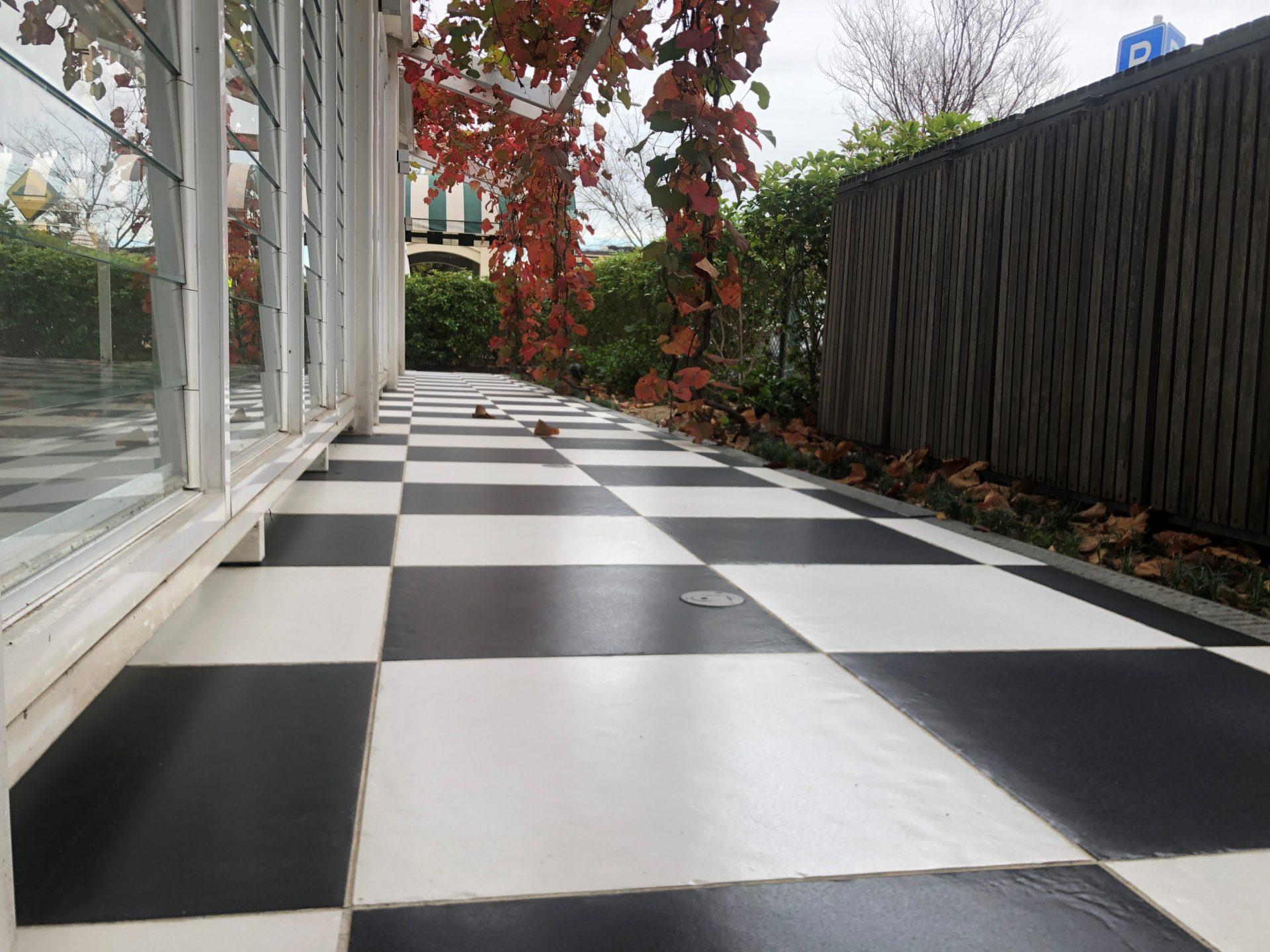 slip resistant floor